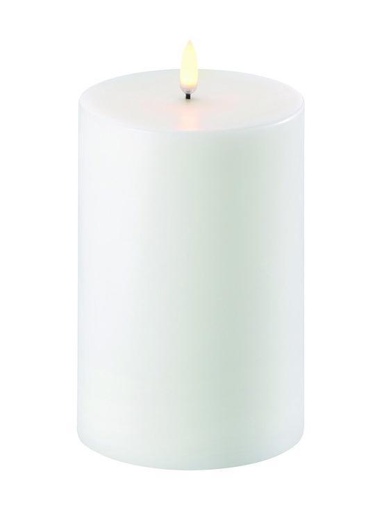 UYUNI - Pillar LED -pöytäkynttilä 10 x 15 cm - NORDIC WHITE   Stockmann - photo 1