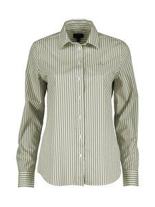 GANT - Broadcloth Striped -paita - 329 ALOE GREEN | Stockmann