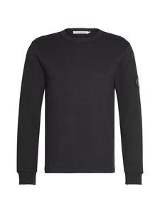 Calvin Klein Jeans - Monogram Badge LS Tee -paita - BAE CK BLACK | Stockmann