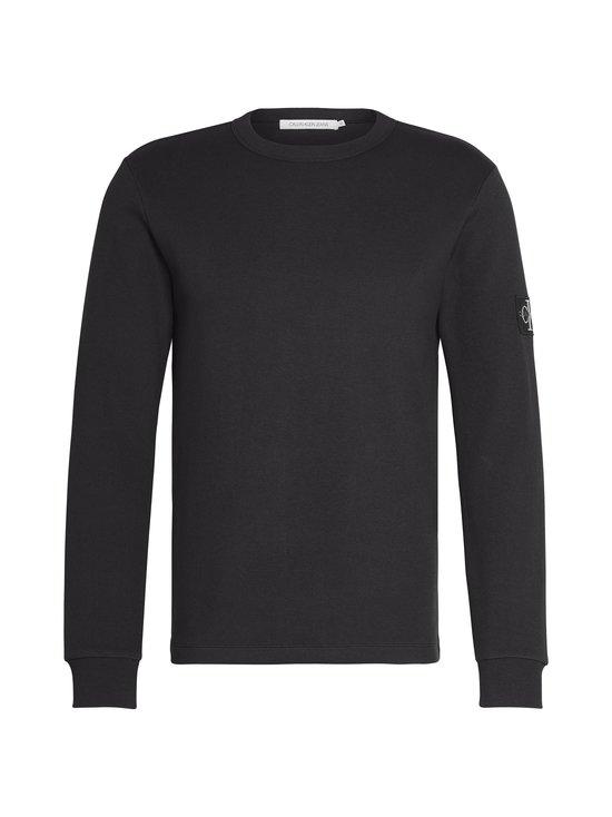 Calvin Klein Jeans - Monogram Badge LS Tee -paita - BAE CK BLACK | Stockmann - photo 1