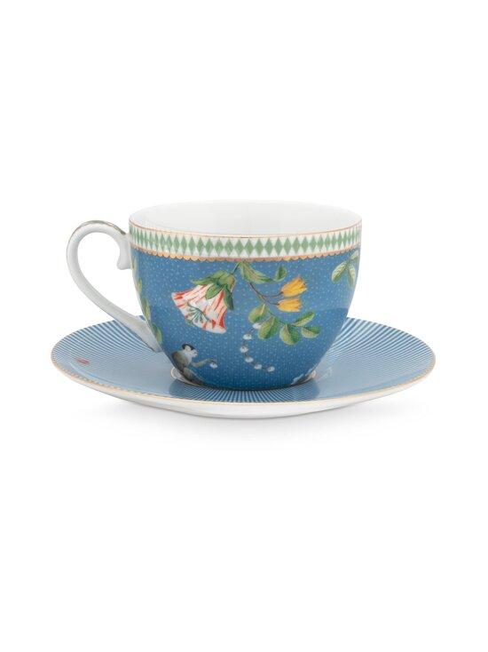 PIP Studio - La Majorelle -kahvikuppi 280 ml ja lautanen - BLUE | Stockmann - photo 2
