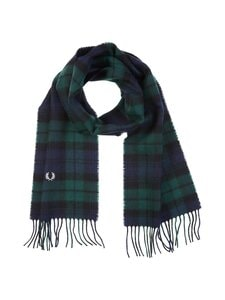 Fred Perry - Black Watch Tartan Scarf -villahuivi - 426 IVY | Stockmann