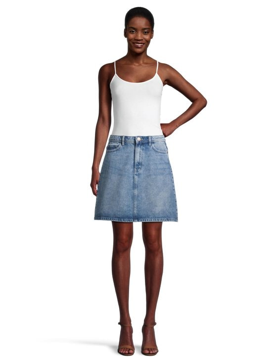 Pieces - PcLou High Waist -farkkuhame - LIGHT BLUE DENIM | Stockmann - photo 2
