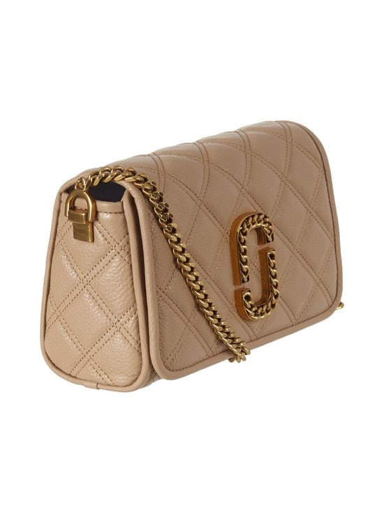 Marc Jacobs - Naomi Small Shoulder Quilt -nahkalaukku - 265 TAN | Stockmann - photo 2