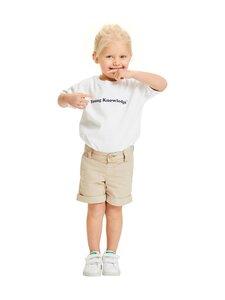 Knowledge Cotton Apparel - Kale Regular Chino Shorts - shortsit - 1228 LIGHT FEATHER GRAY | Stockmann