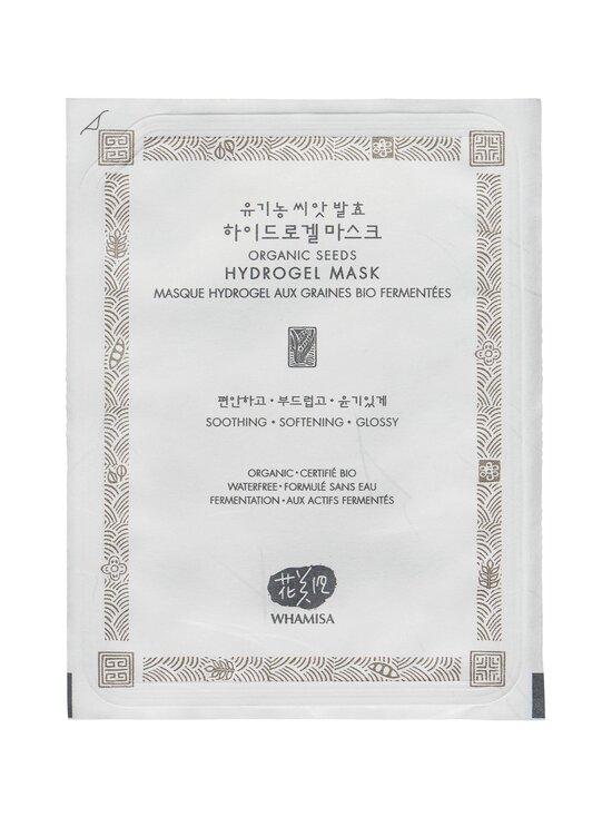 Whamisa - Organic Seeds Hydrogel Mask -hydrogeelinaamio 33 g - NOCOL | Stockmann - photo 1
