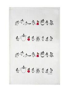 Moomin - Lilla My -keittiöpyyhe 50 x 70 cm - VALKOINEN | Stockmann