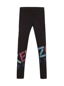 KENZO KIDS - Logo-leggingsit - 02 BLACK | Stockmann
