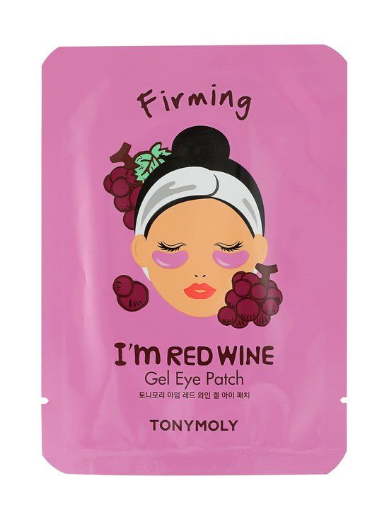 TONYMOLY - I'm Red Wine Eye Patch -silmänalusnaamiot 7 g - NOCOL | Stockmann - photo 1