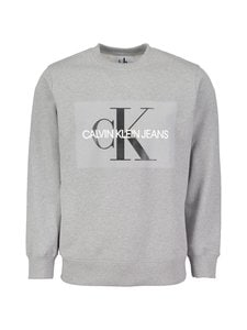 Calvin Klein Jeans - Core Monogram Logo -collegepaita - GREY HEATHER (HARMAA) | Stockmann
