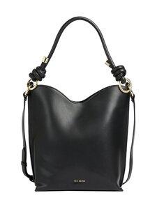 Ted Baker London - DAAISY Knotted Leather Shopper -laukku - BLACK | Stockmann
