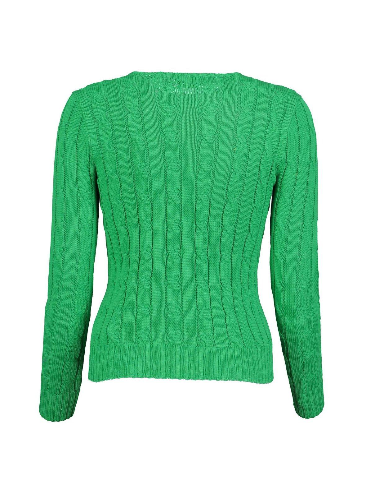 Stem Green (vihreä) Polo Ralph Lauren Cotton Classic Cable -neule ... ccadcc084b