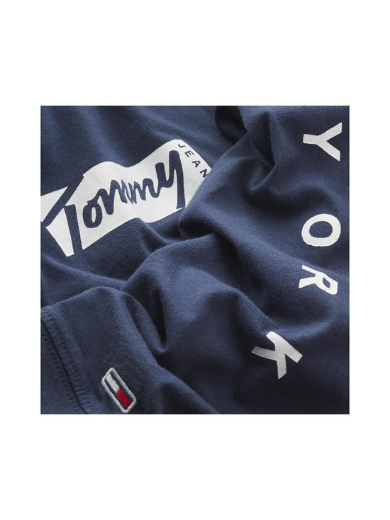 Tommy Jeans - TJM Longsleeve Script Box Tee -paita - C87 TWILIGHT NAVY | Stockmann - photo 3