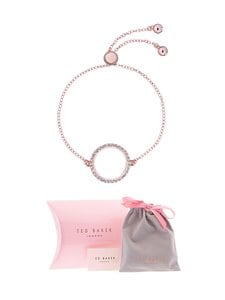 Ted Baker London - Lemmina Lunar Pavé Circle -rannekoru - ROSE GOLD/CRYSTAL | Stockmann