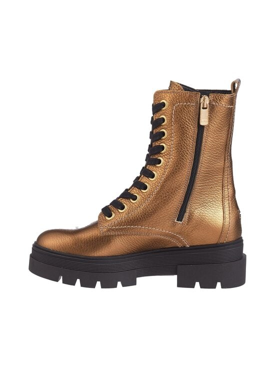 Rugged Classic Metallic Bootie -nahkanilkkurit