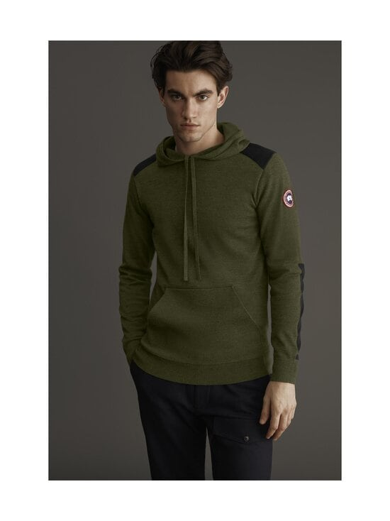 Canada Goose - Amherst Hoody -merinovillaneule - 49 MILITARY GREEN - VERT MILITAIRE | Stockmann - photo 2