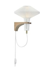 Le Klint - The Mushroom 204 -seinävalaisin - WHITE, LIGHT OAK | Stockmann