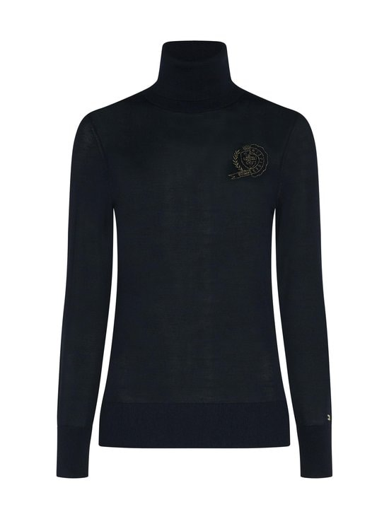 Tommy Hilfiger - Icon Crest Roll-Neck -pooloneule - DW5 DESERT SKY | Stockmann - photo 1