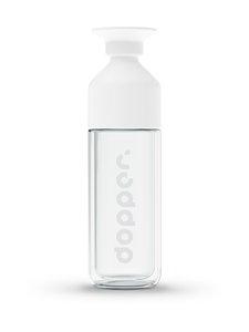 Dopper - Glass Insulated -juomapullo 450 ml - WHITE   Stockmann