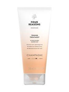 Four Reasons - Color Mask Toning Treatment Champagne -sävyttävä tehohoito 200 ml - null | Stockmann
