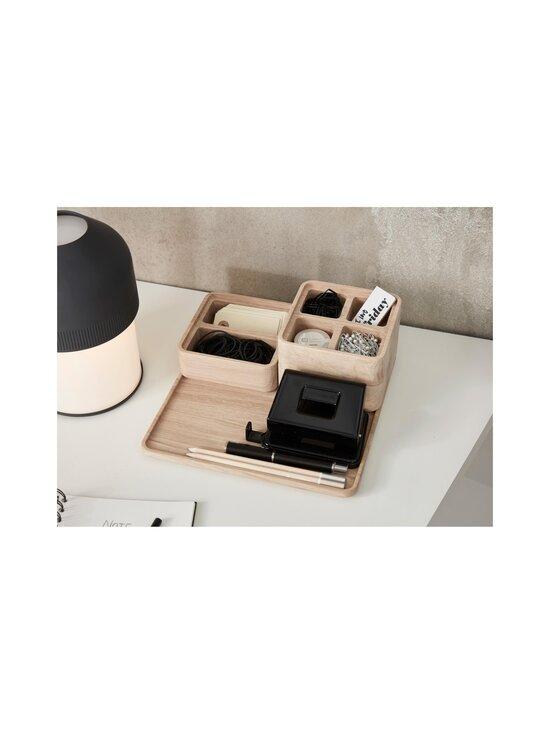 Andersen - Create Me -laatikko 12 x 12 x 4 cm - OAK + BLACK   Stockmann - photo 2