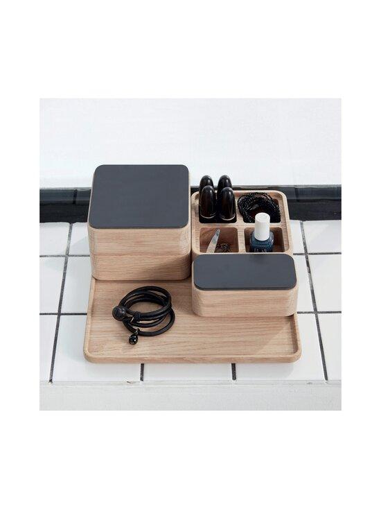 Andersen - Create Me -laatikko 12 x 12 x 4 cm - OAK + BLACK   Stockmann - photo 4
