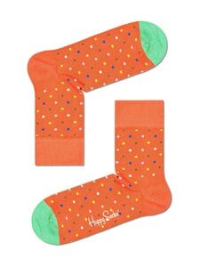 Happy Socks - Dot Half Crew -sukat - 2700-ORANGE | Stockmann