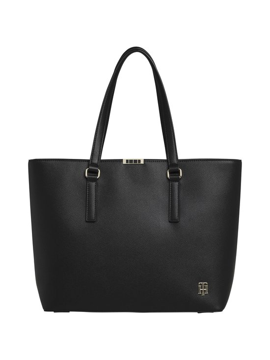 Tommy Hilfiger - Saffiano Tote -laukku - BDS BLACK | Stockmann - photo 1