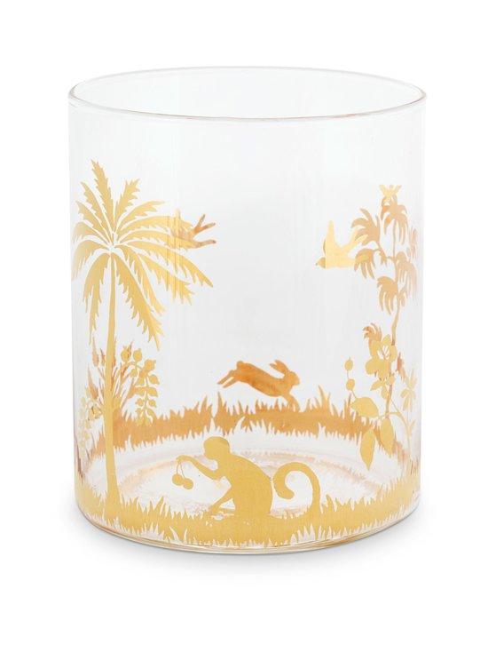 PIP Studio - La Majorelle Water Glass -lasi 250 ml - TRANSPARENT WITH GOLD RIM PICTURES   Stockmann - photo 1