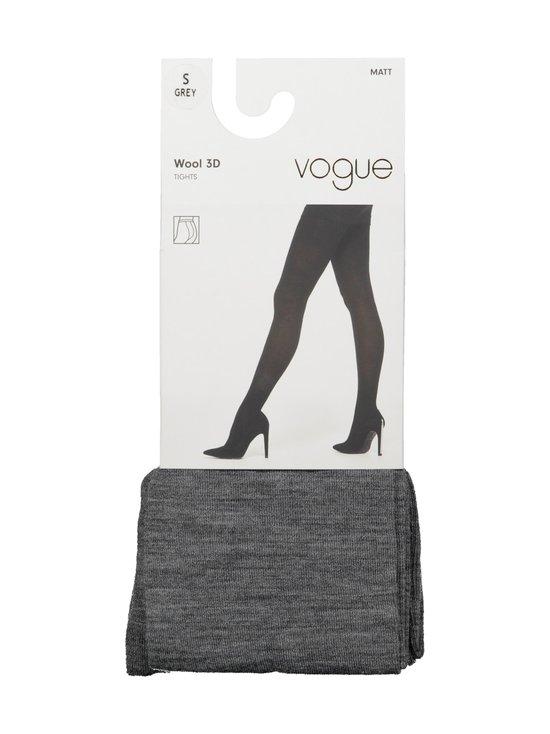 Vogue - Wool 3D -villasekoitesukkahousut - 1181 GREY | Stockmann - photo 1
