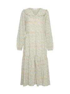 Moss Copenhagen - Evette LS Dress AOP -mekko - ECRU FLOWER | Stockmann