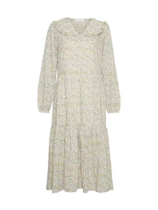 Moss Copenhagen - Evette LS Dress AOP -mekko - ECRU FLOWER | Stockmann - photo 1