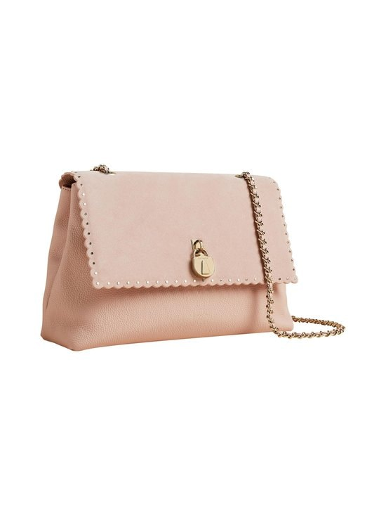 Ted Baker London - Monikah Padlock Scallop Detail -nahkalaukku - 57 NUDE PINK | Stockmann - photo 1
