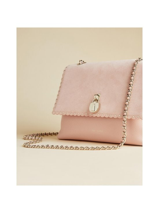 Ted Baker London - Monikah Padlock Scallop Detail -nahkalaukku - 57 NUDE PINK | Stockmann - photo 2