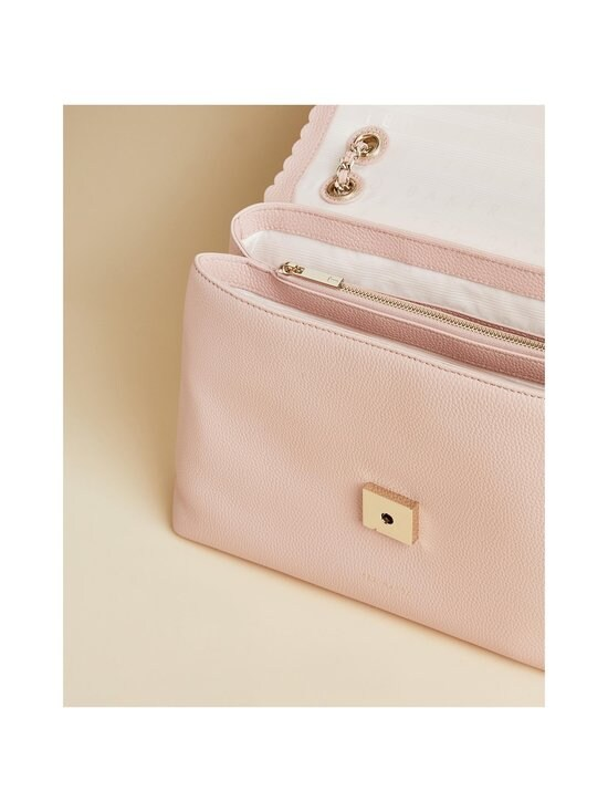 Ted Baker London - Monikah Padlock Scallop Detail -nahkalaukku - 57 NUDE PINK | Stockmann - photo 3