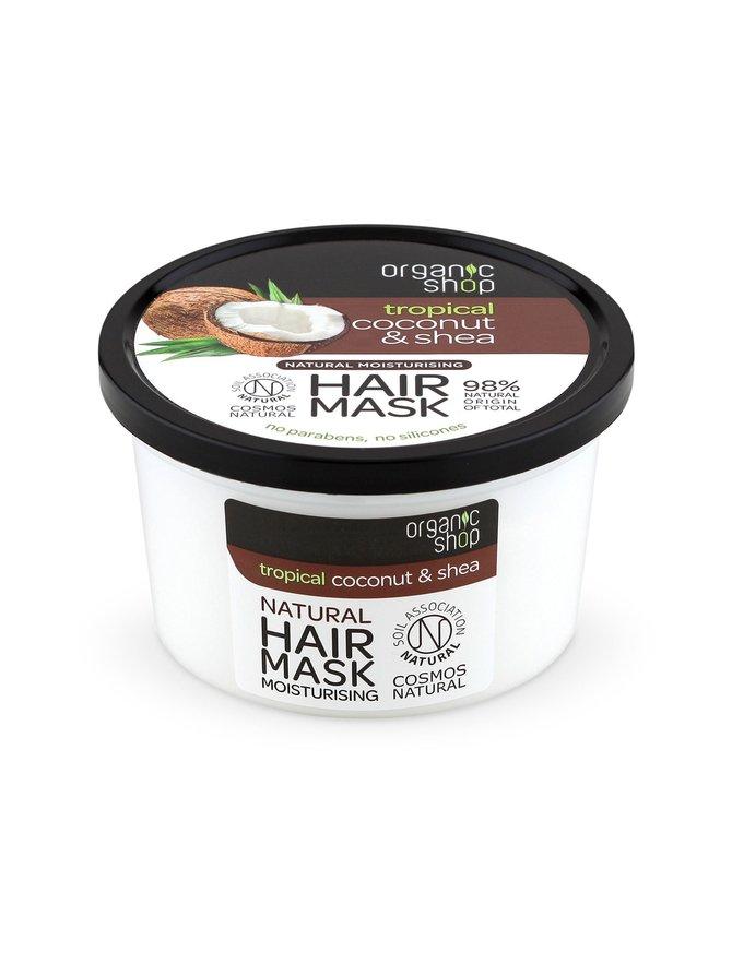 Coconut & Shea Moisturizing Hair Mask -hiusnaamio 250 ml