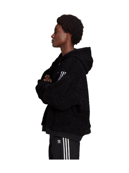 adidas Originals - Full Zip Hoodie -huppari - BLACK BLACK | Stockmann - photo 6