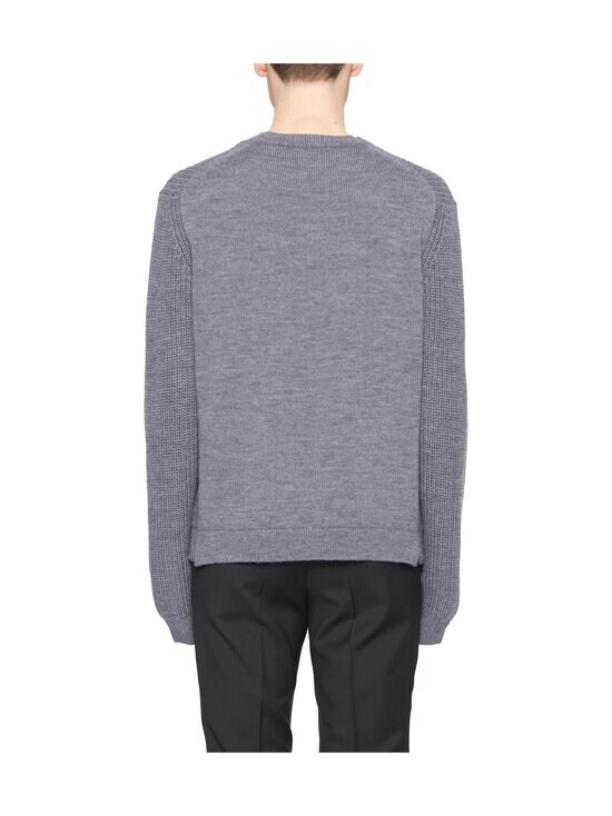 Tiger Of Sweden - Puffin Relaxed Fit -merinovillaneule - M03 MED GREY MEL | Stockmann - photo 2