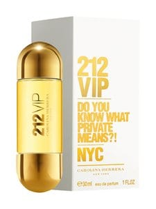 Carolina Herrera - 212 VIP EdP -tuoksu 30 ml | Stockmann
