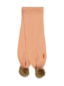 Gugguu - Scarf with Tufts Fur -merinohuivi - DREAMY APRICOT | Stockmann
