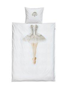 Snurk - Ballerina-pussilakanasetti 150 x 210 + 50 x 60 cm - VALKOINEN | Stockmann