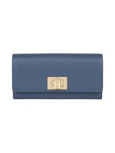 Furla - 1927 Continental Wallet -nahkalompakko - DE000 BLU DENIM | Stockmann