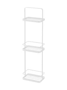 Yamazaki - Tower Bath Rack Slim -kylpyhuoneen hylly - WHITE | Stockmann