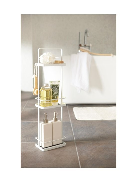 Yamazaki - Tower Bath Rack Slim -kylpyhuoneen hylly - WHITE | Stockmann - photo 3