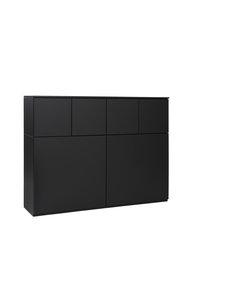 Lundia - Fuuga-kaappi 35 x 100 x 128 cm - MATTAMUSTA | Stockmann