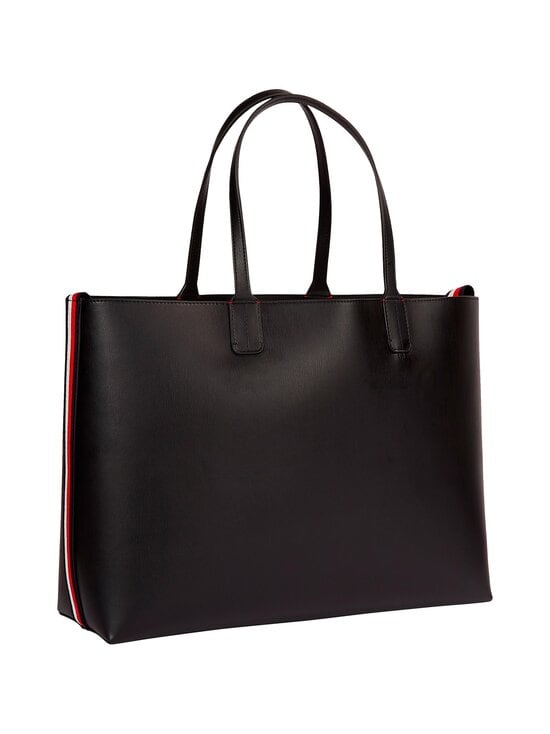 Tommy Hilfiger - Iconic Tommy Tote Signature -laukku - BDS BLACK | Stockmann - photo 2
