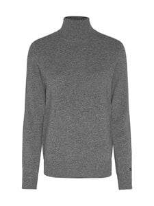 Tommy Hilfiger - Recycled Cashmere Rollneck -kashmirneule - PJA MEDIUM GREY HEATHER | Stockmann