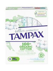 Tampax - Organic Cotton Super tampon 16pcs -tamponit 16 kpl | Stockmann