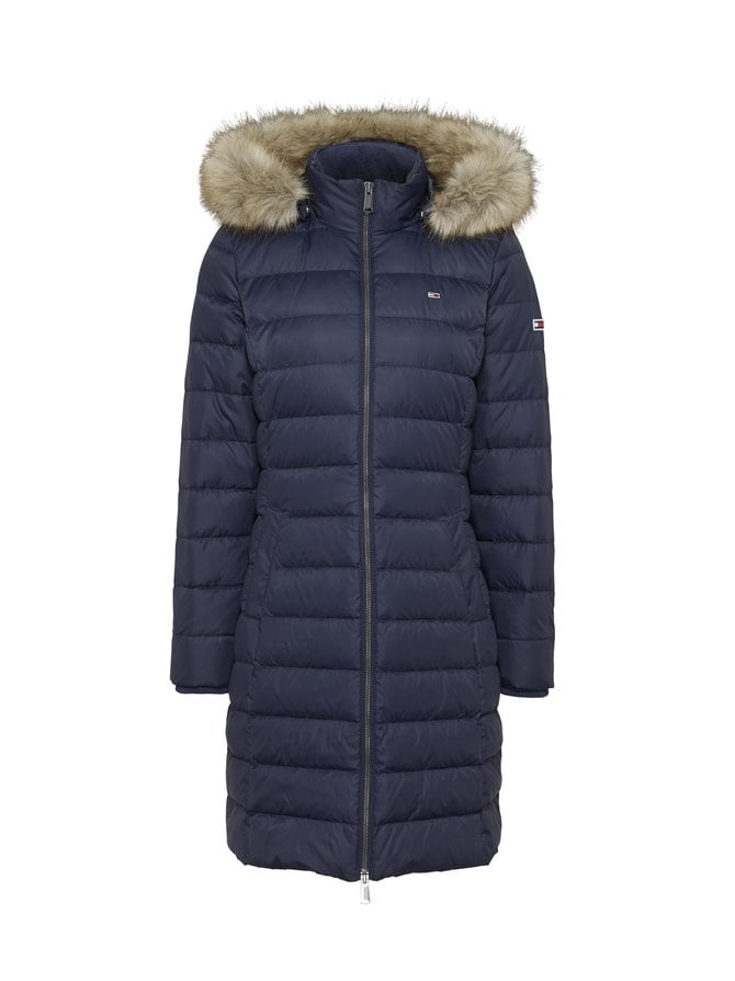 Tjw Essential Hooded Down Coat -untuvatakki