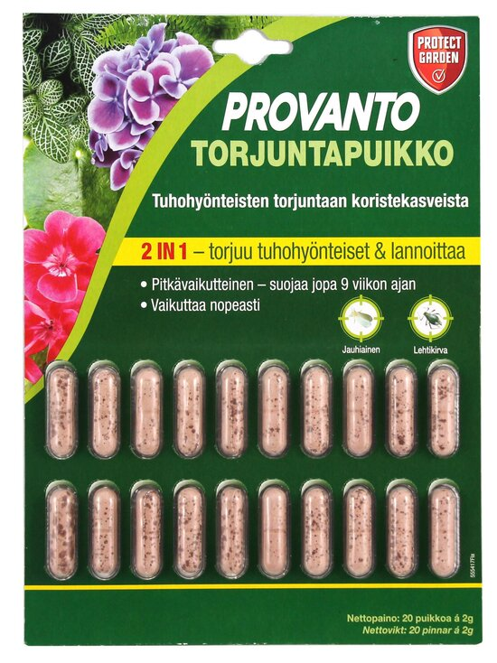 Bayer - Provanto Care 2-in-1 -torjuntapuikko 20 x 2 g | Stockmann - photo 1